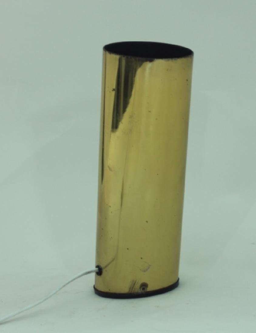 1970s Slanted Brass Tube Wall Sconce or Spot Light - 4