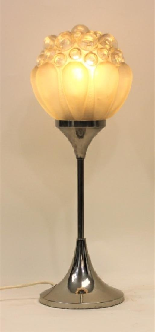 Helena Paavo Tynell Bubble Glass Tulip Table Lamp
