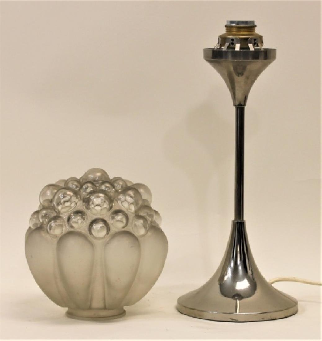Helena Paavo Tynell Bubble Glass Tulip Table Lamp - 4