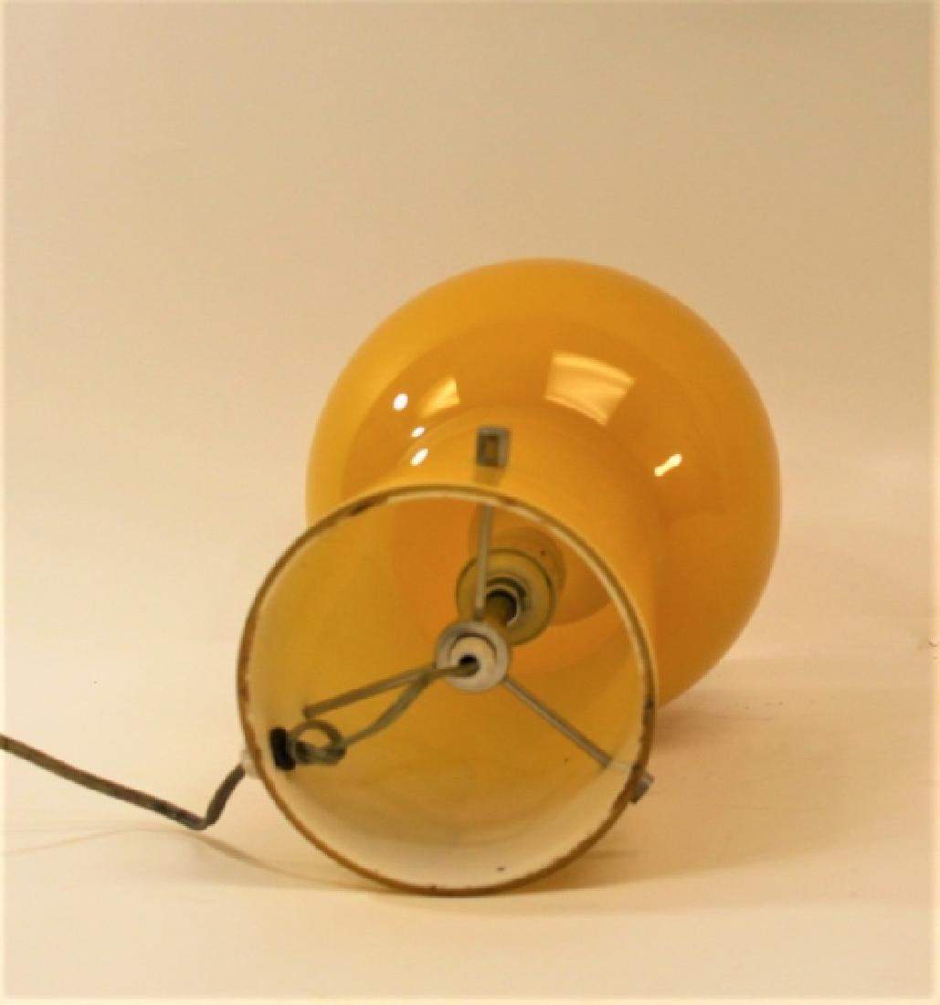 Vintage Vistosi Murano Glass Mushroom Table Lamp - 3