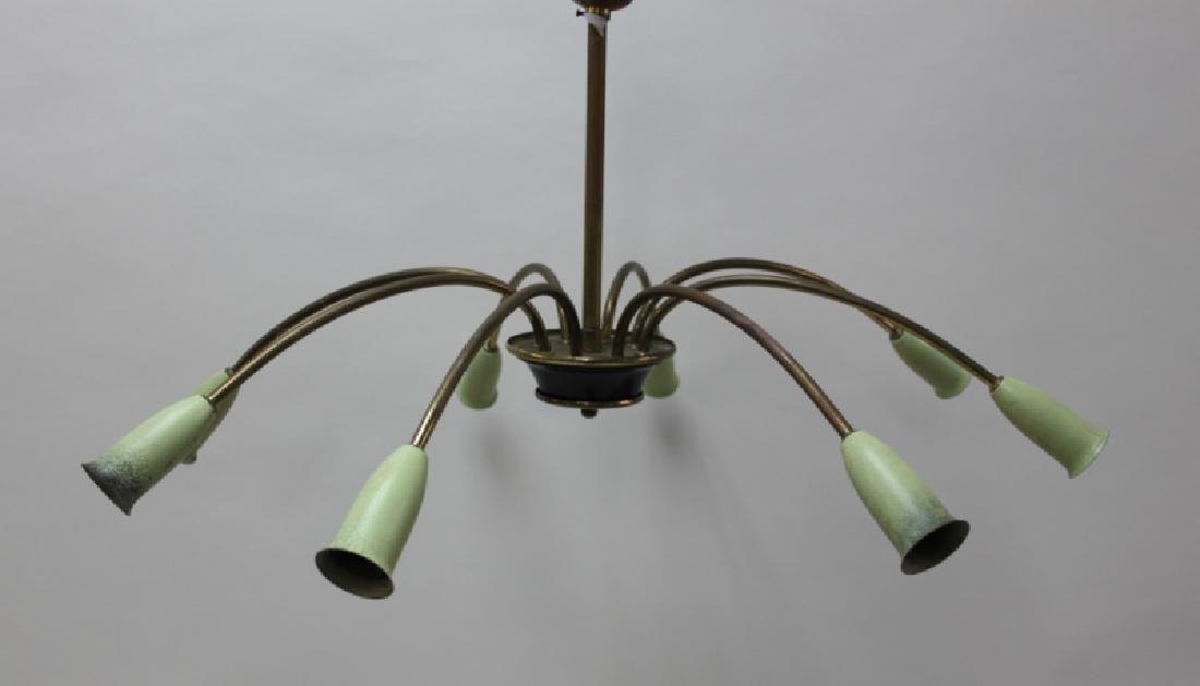 50s Stilnovo ArteLuce Arredoluce Tulip Chandelier - 2