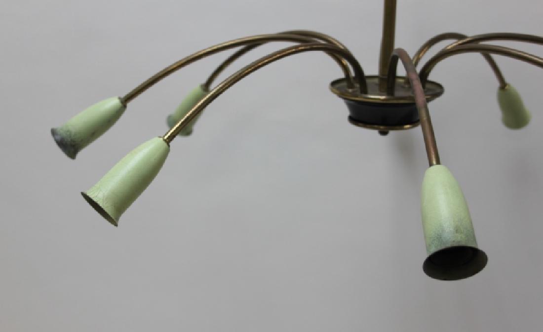 50s Stilnovo ArteLuce Arredoluce Tulip Chandelier - 5