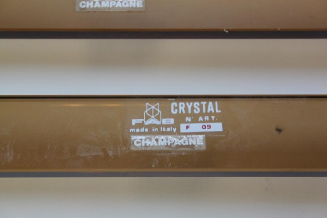 15 Fontana Arte Crystal n' Art FAB Towel Racks - 6