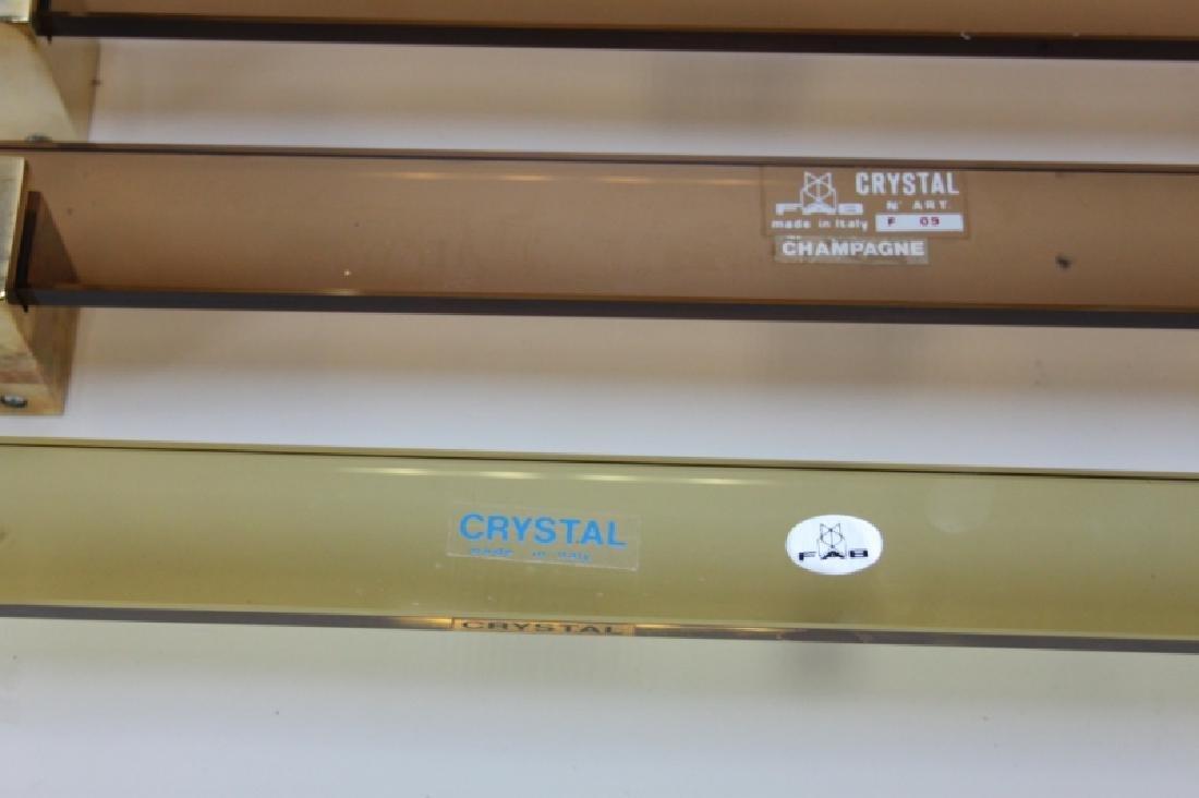 15 Fontana Arte Crystal n' Art FAB Towel Racks - 7
