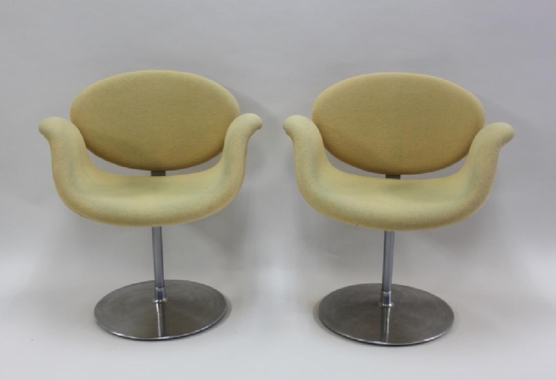 Pair Pierre Paulin Artifort Little Tulip Chairs - 2