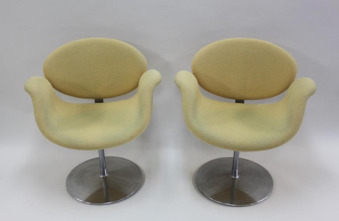 Pair Pierre Paulin Artifort Little Tulip Chairs - 3
