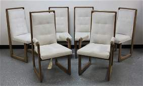 6- Vladimir Kagan Designs Nautilus Dining Chairs