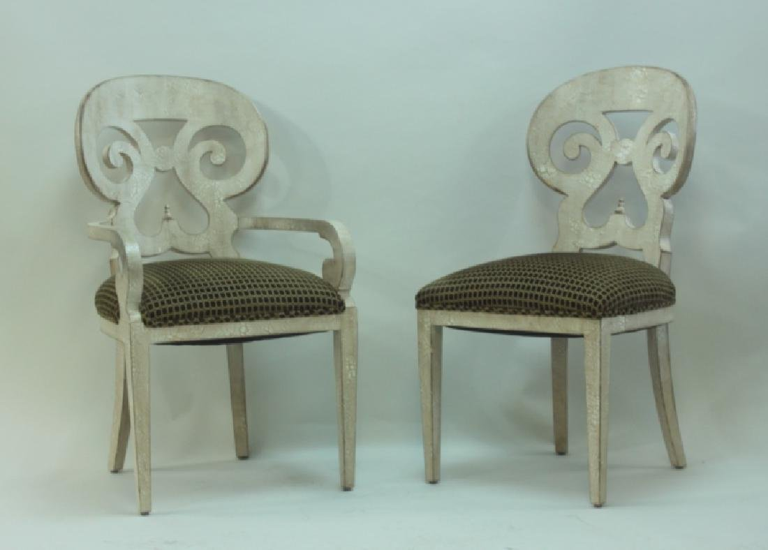 (6) Italian Hollywood Regency Dining Chairs - 3