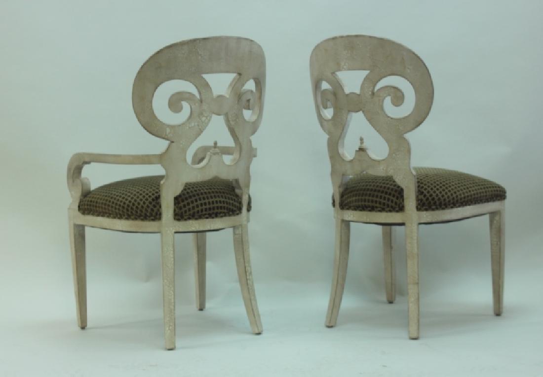 (6) Italian Hollywood Regency Dining Chairs - 5