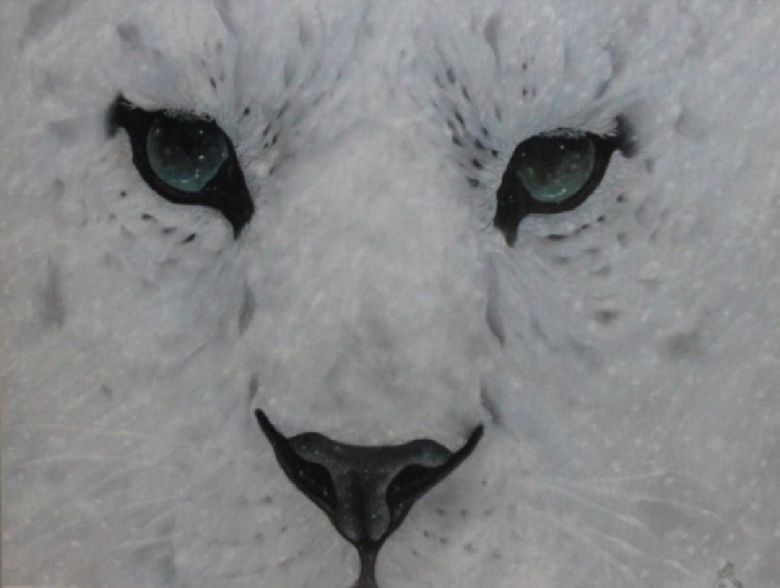 "D Arthur Wilson (American) ""Snow Leopard"" Original"