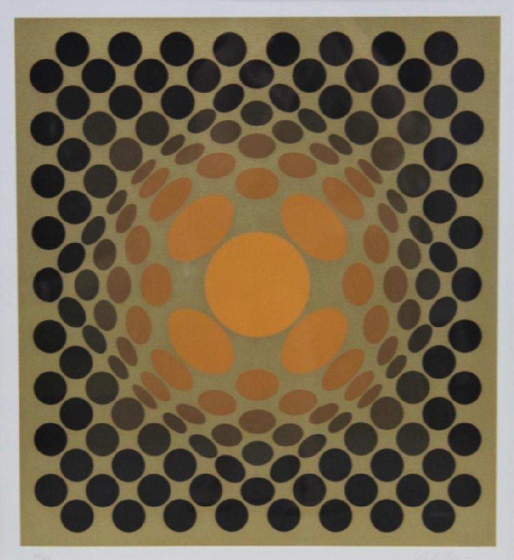 """Victor Vasarely 1906–1997 Screen print """"Catawiki"""""""
