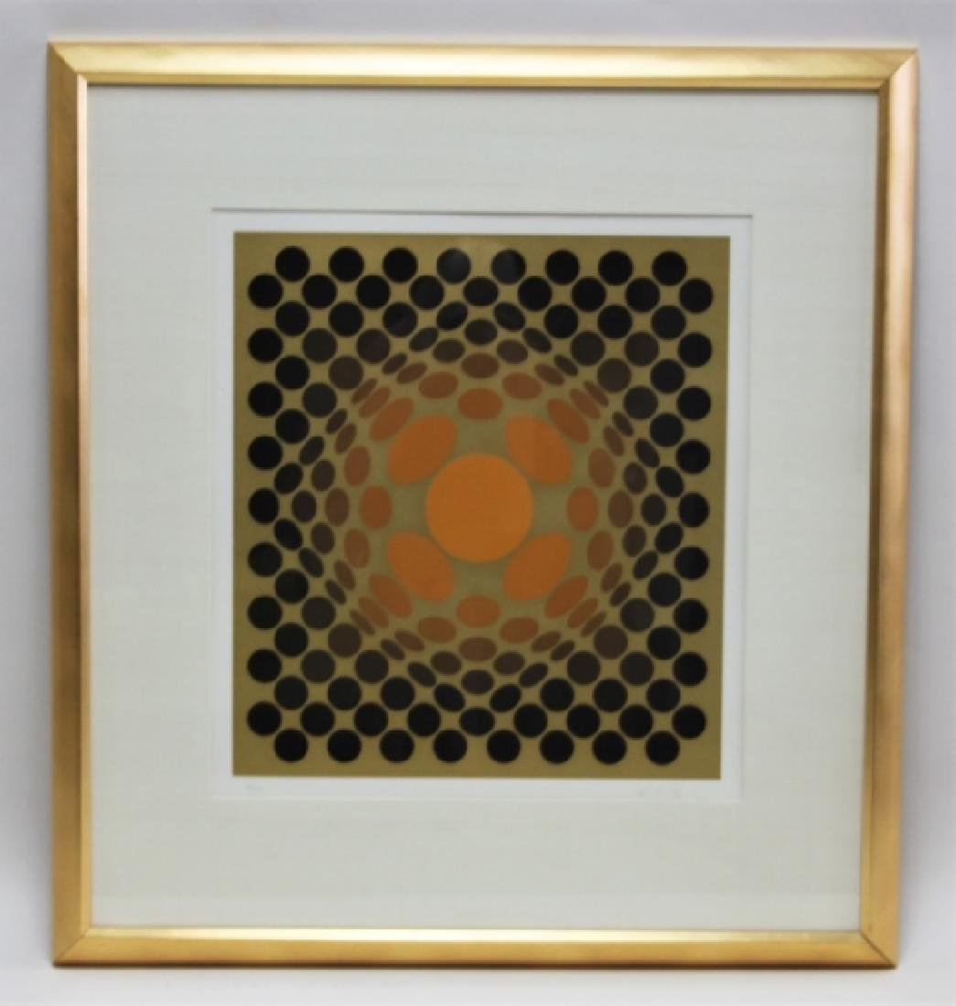 """Victor Vasarely 1906–1997 Screen print """"Catawiki"""" - 2"""