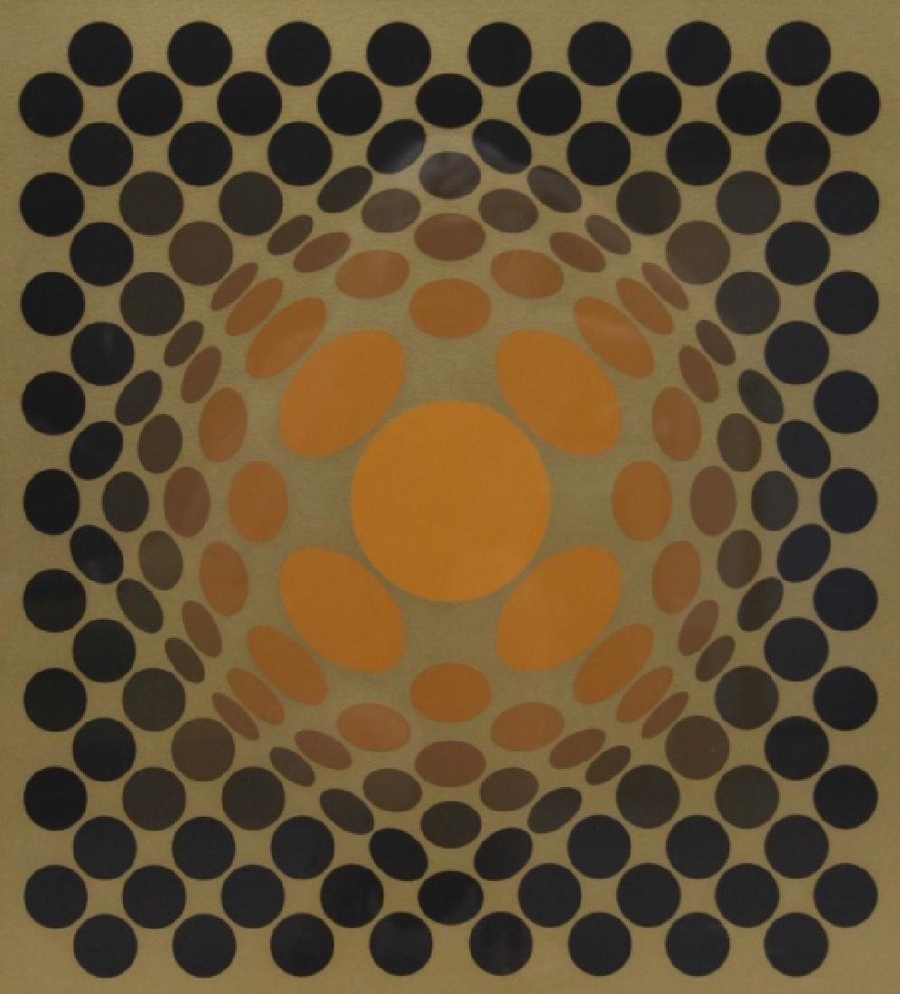 """Victor Vasarely 1906–1997 Screen print """"Catawiki"""" - 3"""