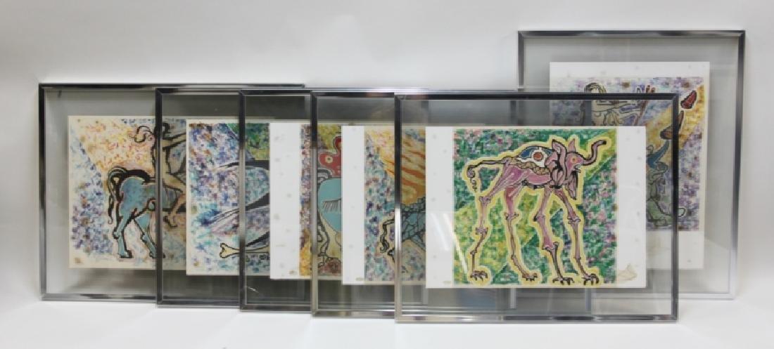 "Salvador Dali, 1904-1989 ""Le Jungle Humaine"" Suite"