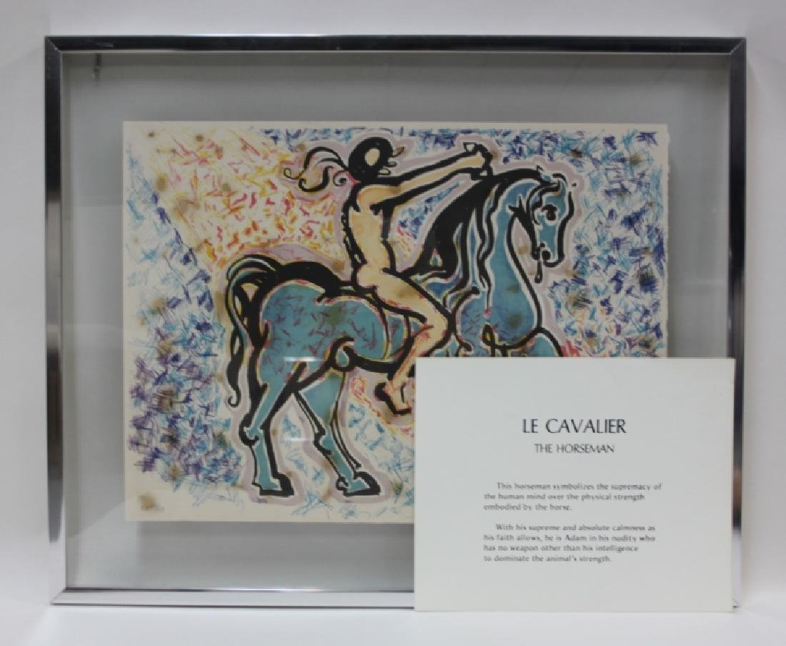 "Salvador Dali, 1904-1989 ""Le Jungle Humaine"" Suite - 2"