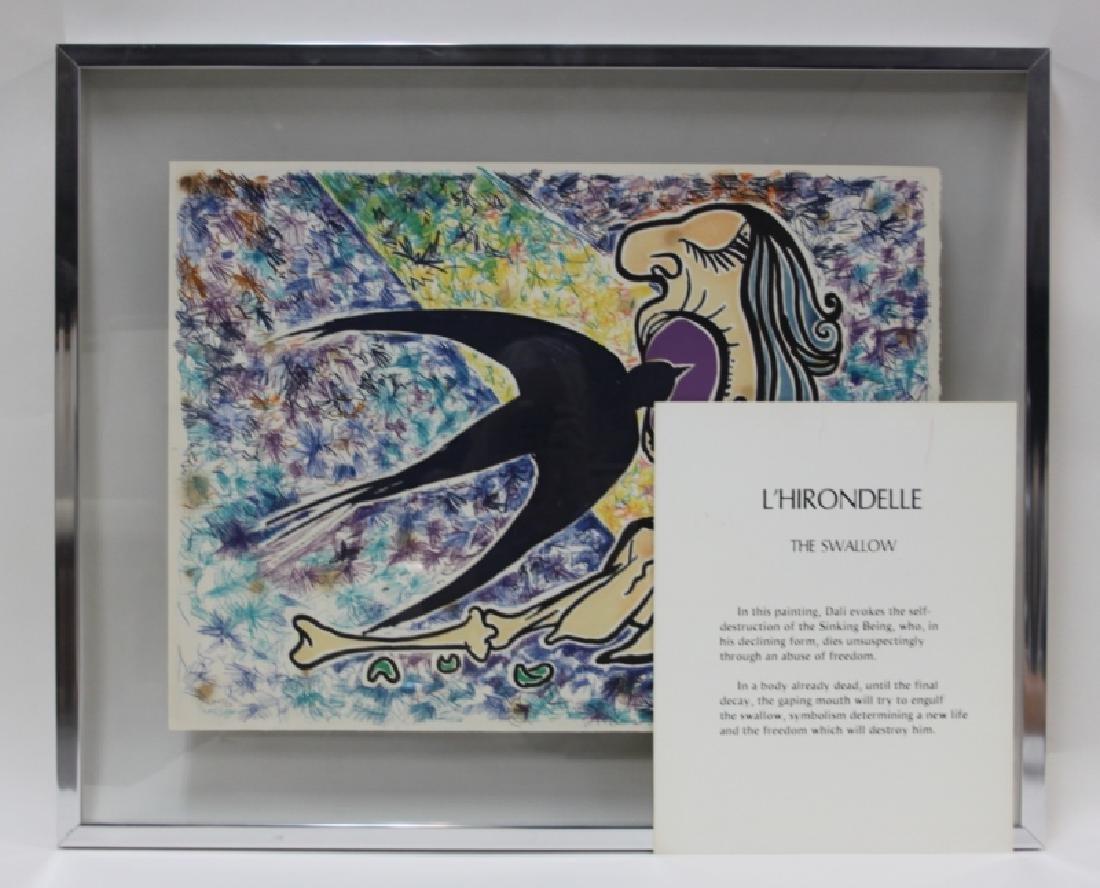 "Salvador Dali, 1904-1989 ""Le Jungle Humaine"" Suite - 3"
