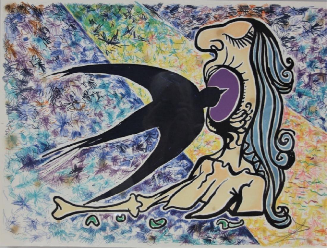 "Salvador Dali, 1904-1989 ""Le Jungle Humaine"" Suite - 4"