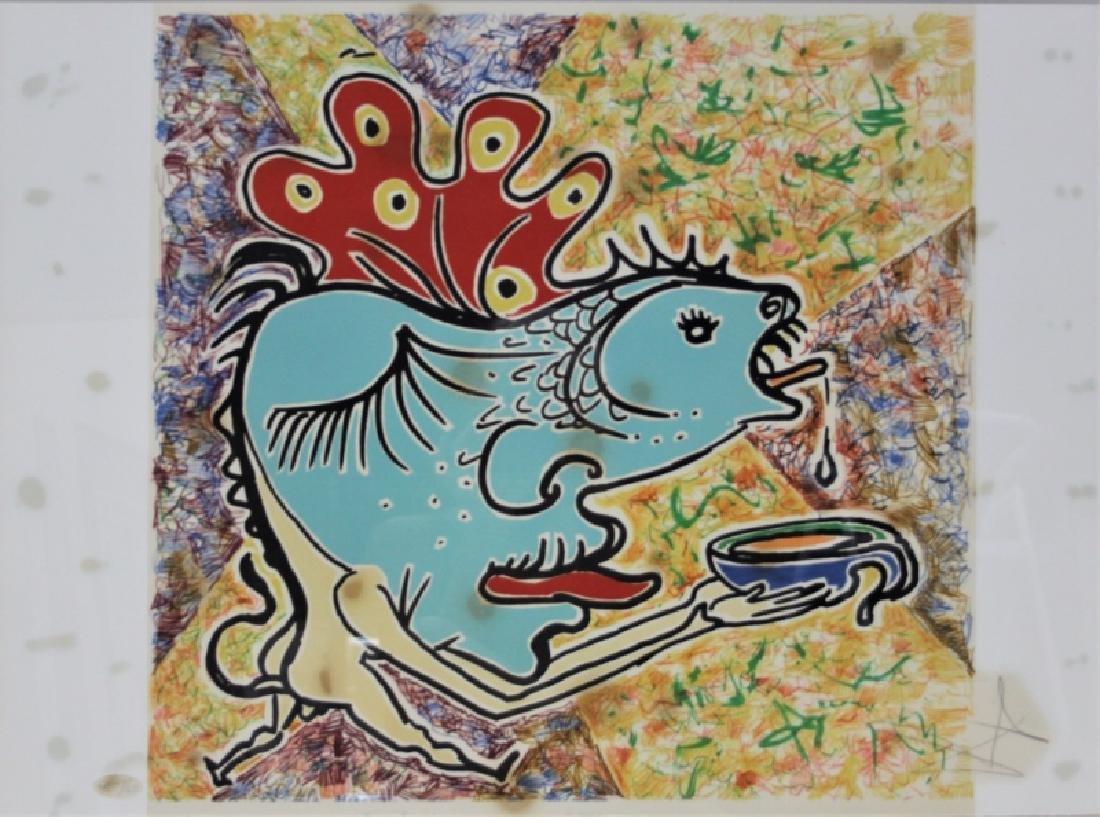 "Salvador Dali, 1904-1989 ""Le Jungle Humaine"" Suite - 6"