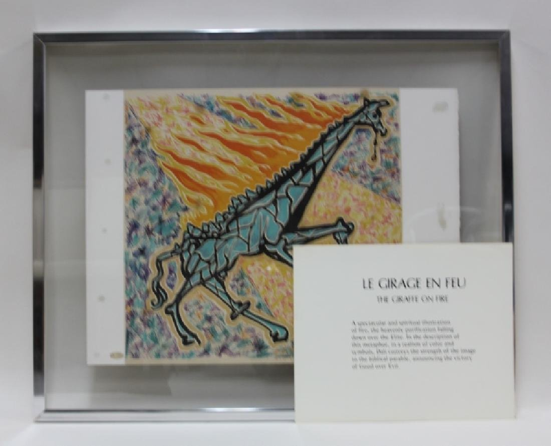 "Salvador Dali, 1904-1989 ""Le Jungle Humaine"" Suite - 9"