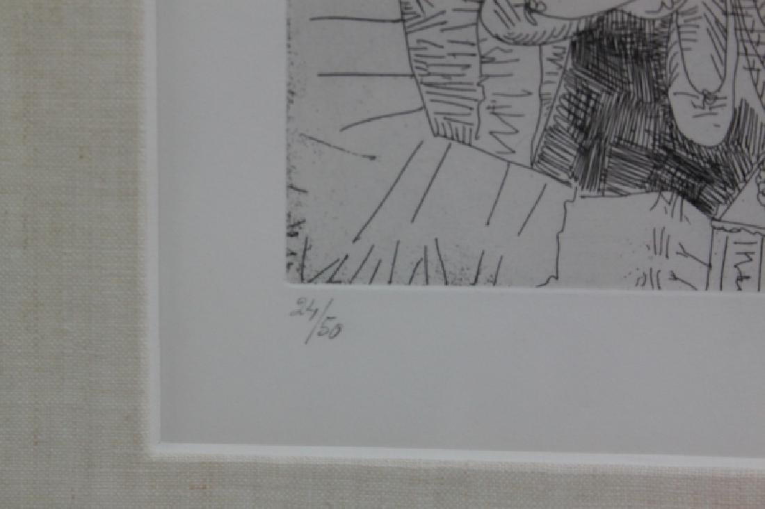 Pablo Picasso Original May 1968 Drypoint Etching - 4