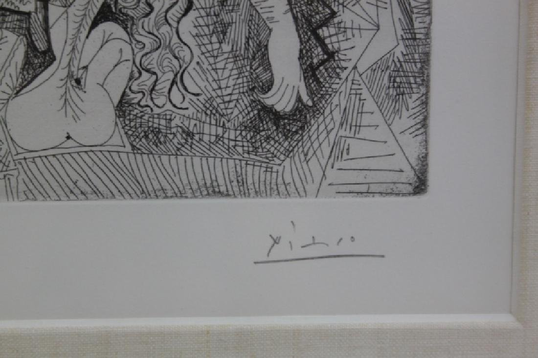 Pablo Picasso Original May 1968 Drypoint Etching - 5
