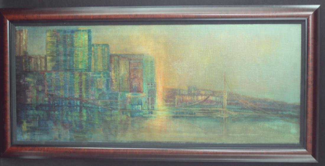 Florence Hasenflug New York Cityscape Oil Painting