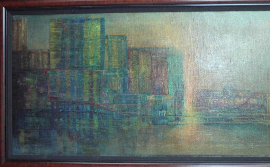 Florence Hasenflug New York Cityscape Oil Painting - 2