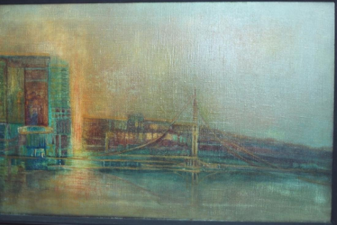 Florence Hasenflug New York Cityscape Oil Painting - 3