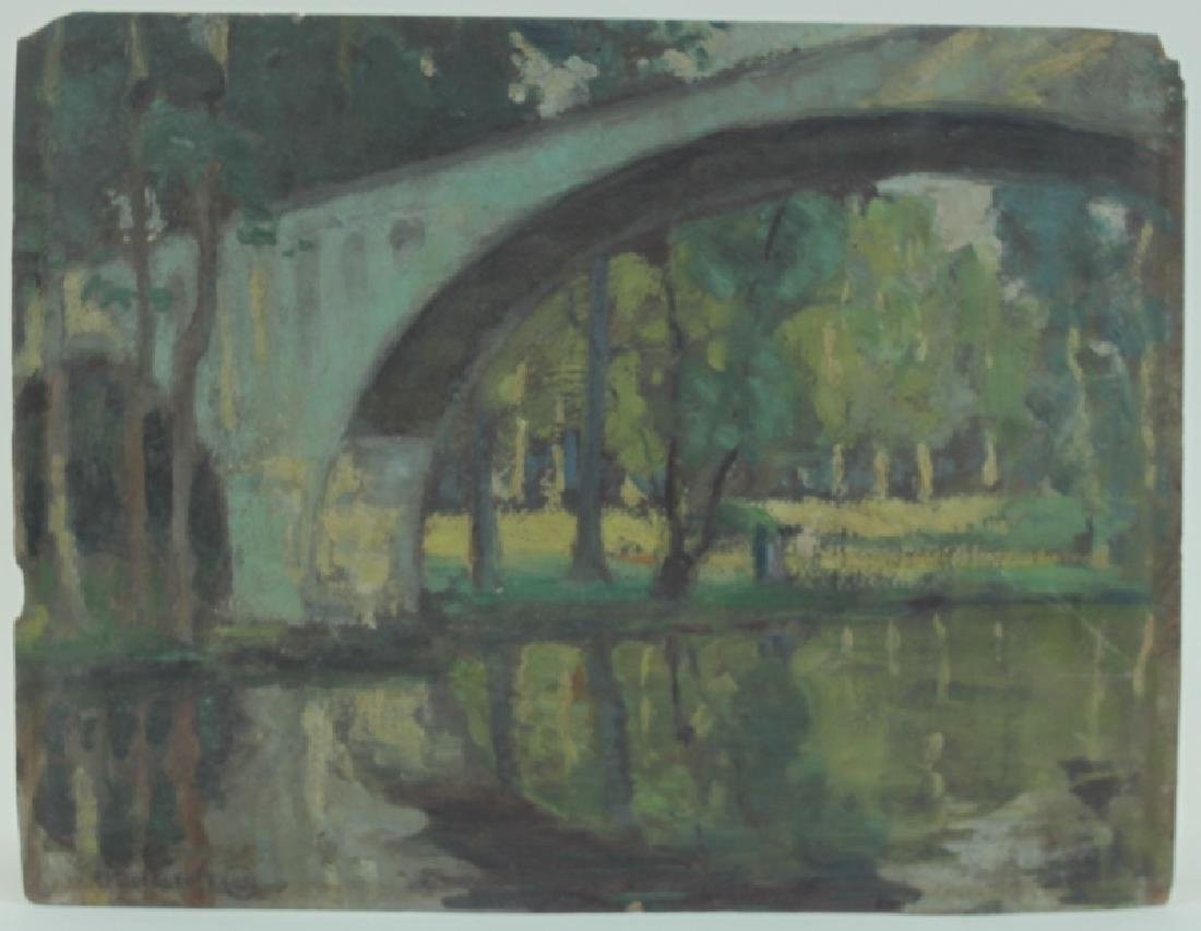 Edith V. Cockcroft (1881-1962) Modernist Painting