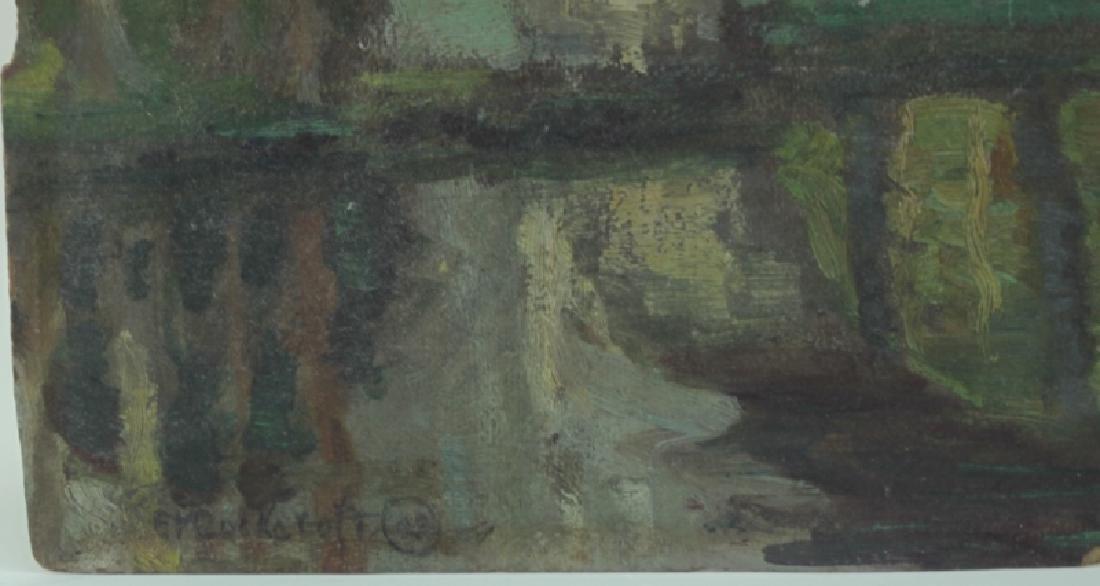 Edith V. Cockcroft (1881-1962) Modernist Painting - 2
