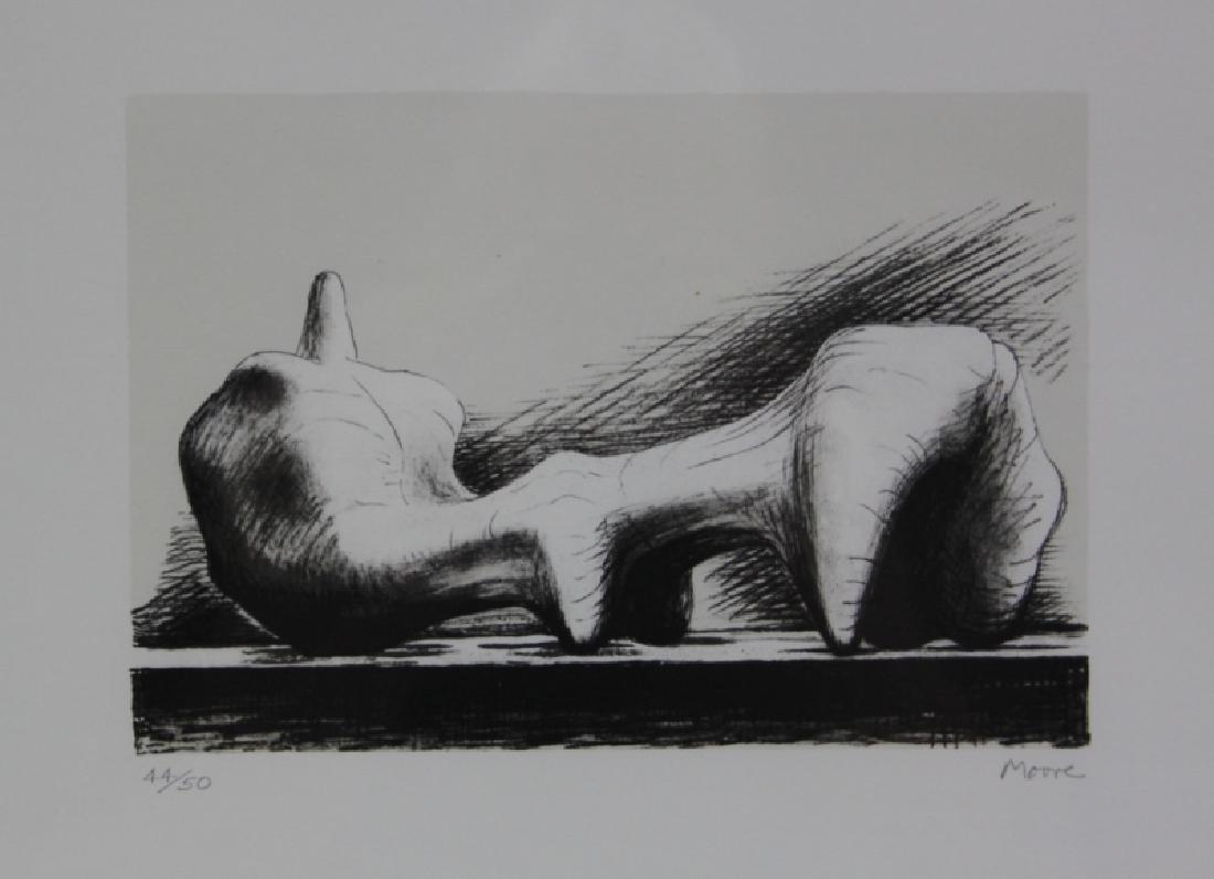 Henry Moore 1898-1986 British, Reclining Figure