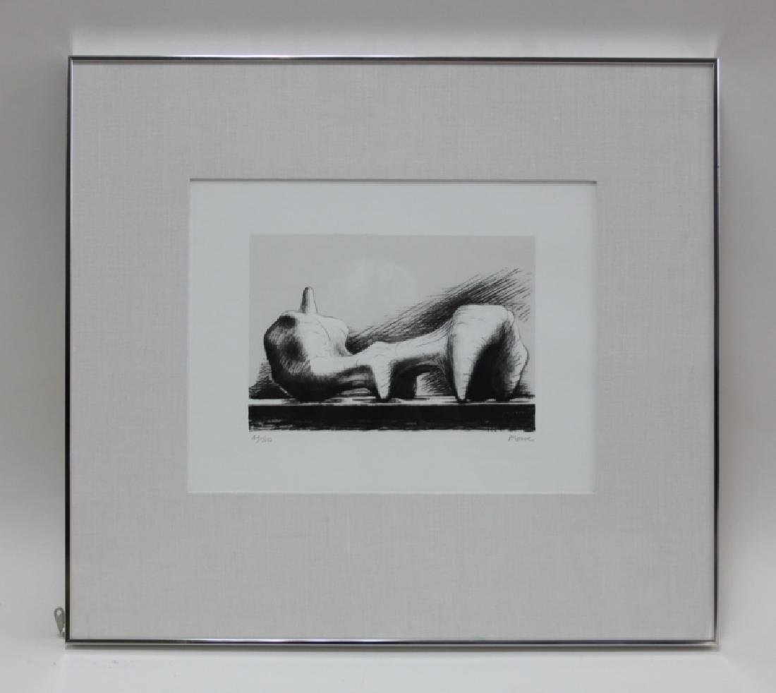 Henry Moore 1898-1986 British, Reclining Figure - 3