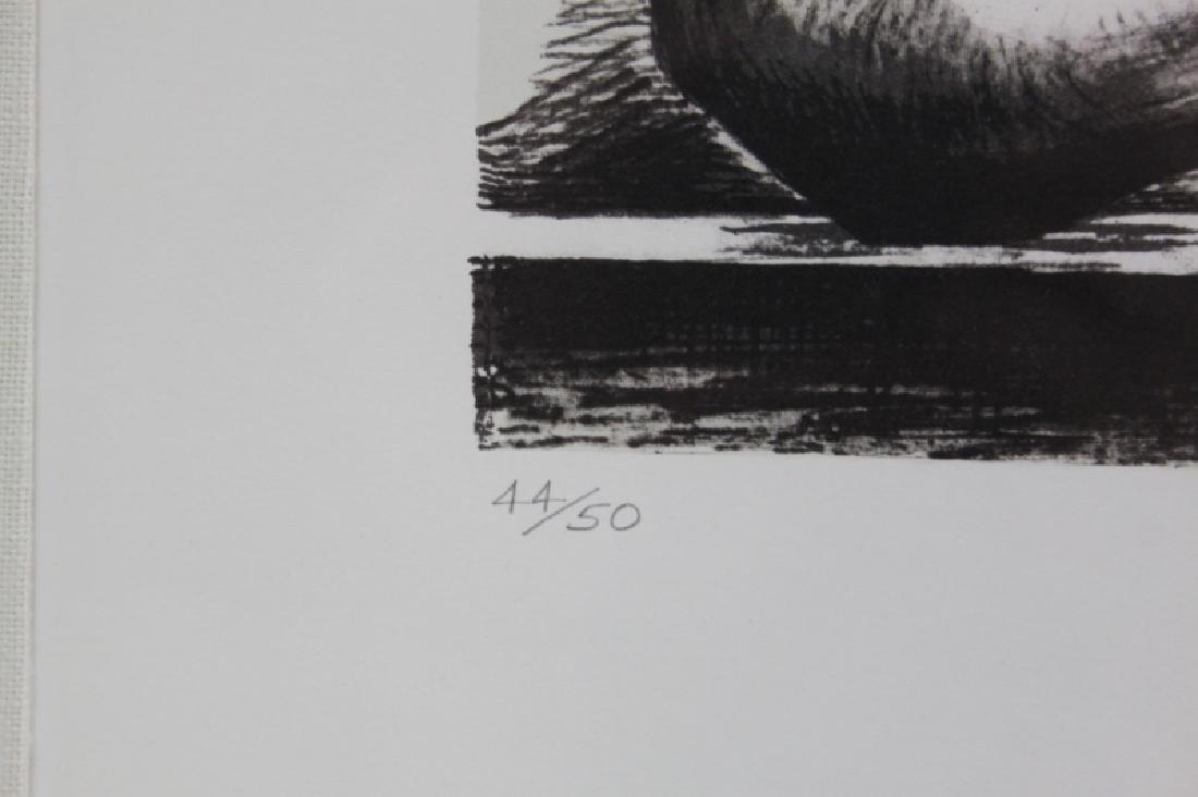 Henry Moore 1898-1986 British, Reclining Figure - 4