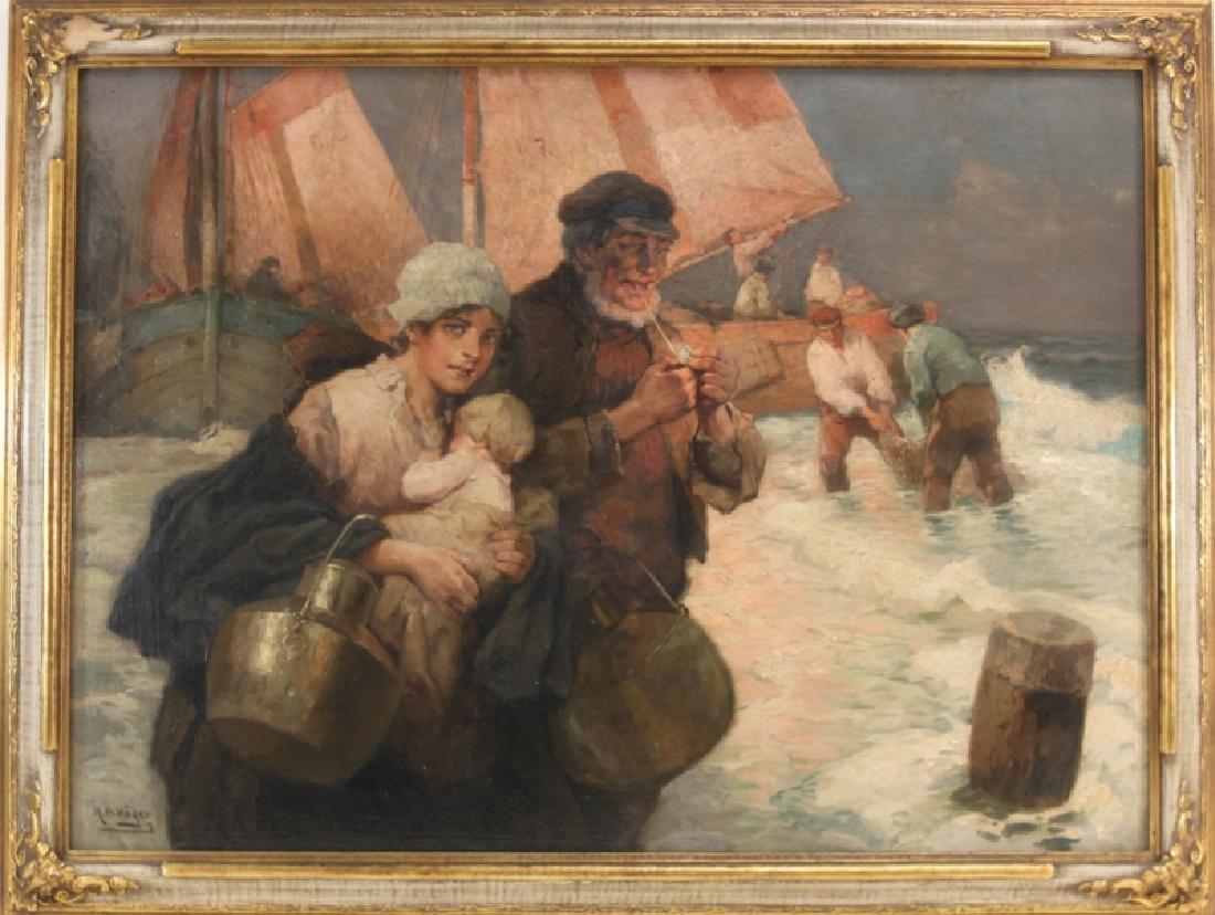 Rudolf A Hoger 1877-1930 Austria, Oil on Canvas