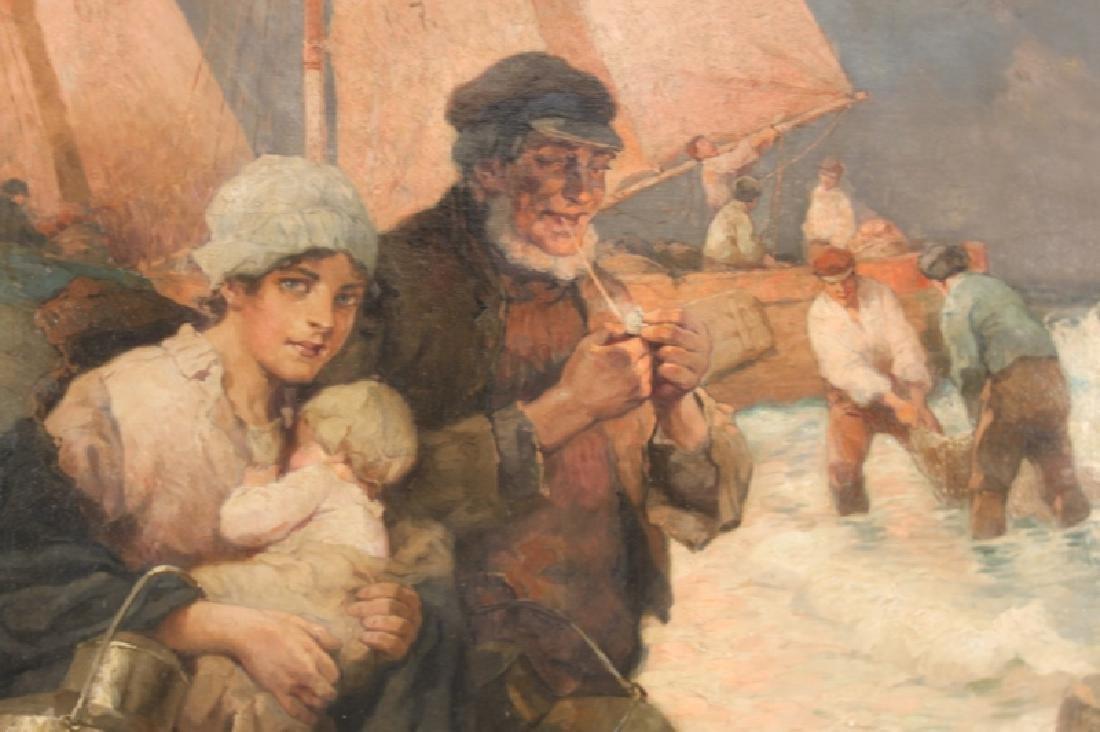 Rudolf A Hoger 1877-1930 Austria, Oil on Canvas - 2