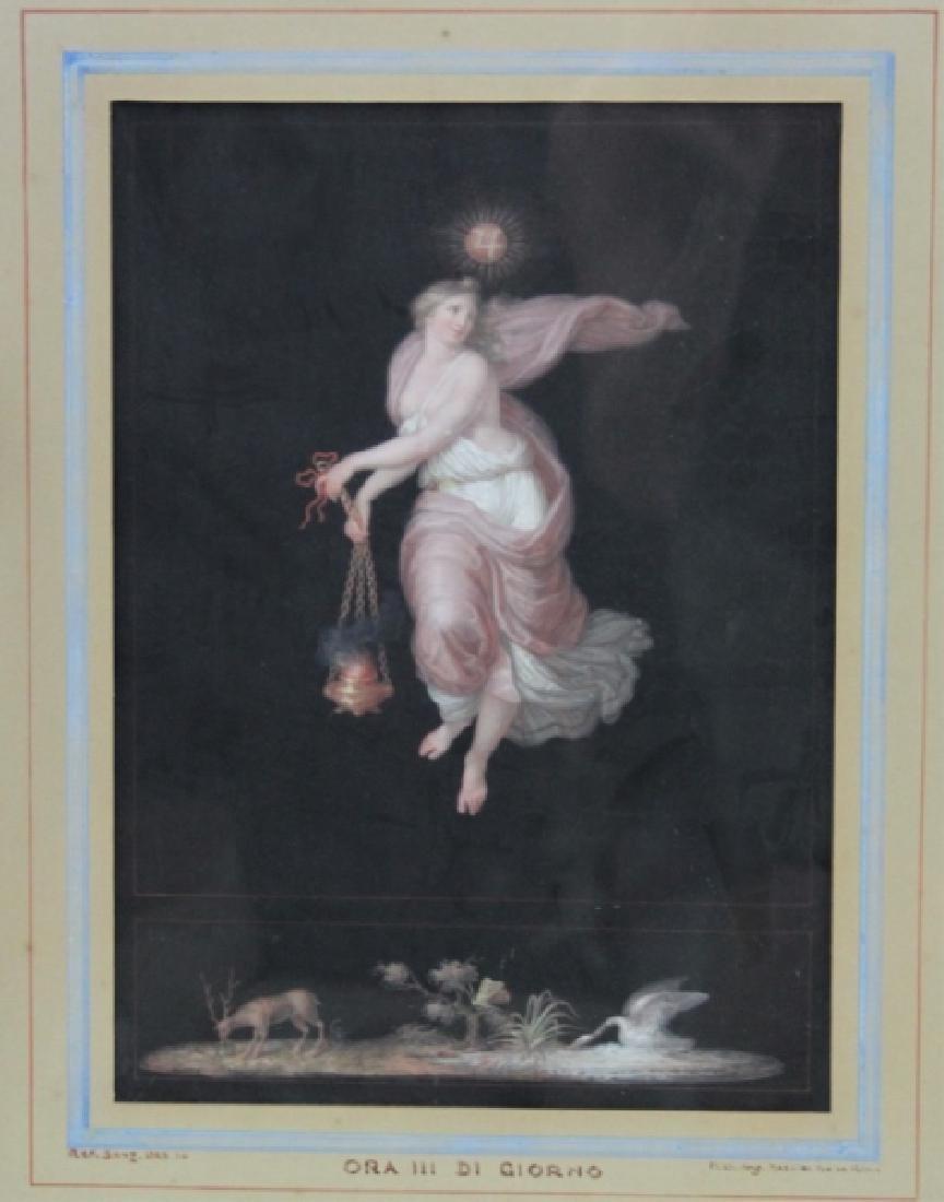 Michelangelo Maestri 1779–1812, Italian Gouache #3