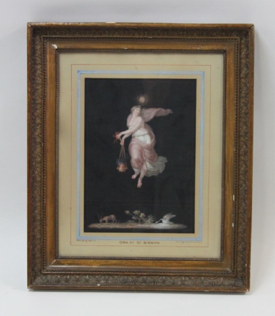 Michelangelo Maestri 1779–1812, Italian Gouache #3 - 2