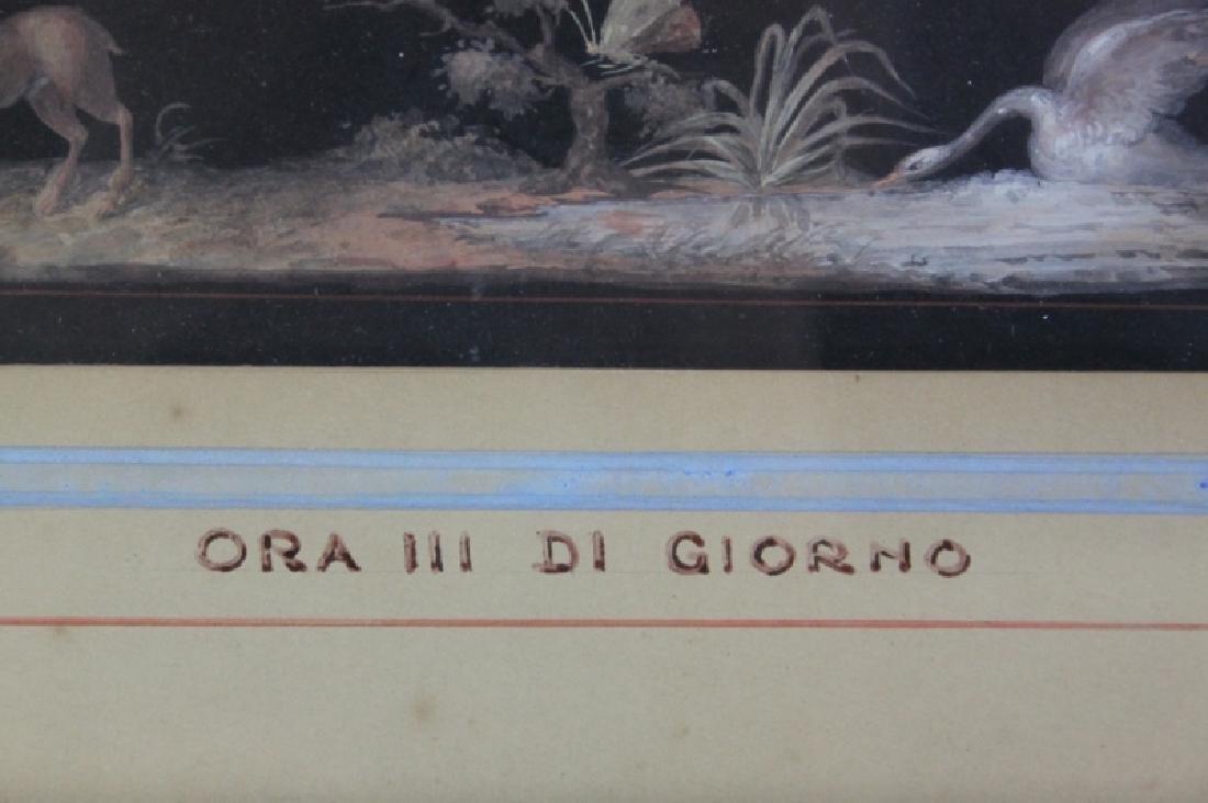 Michelangelo Maestri 1779–1812, Italian Gouache #3 - 5
