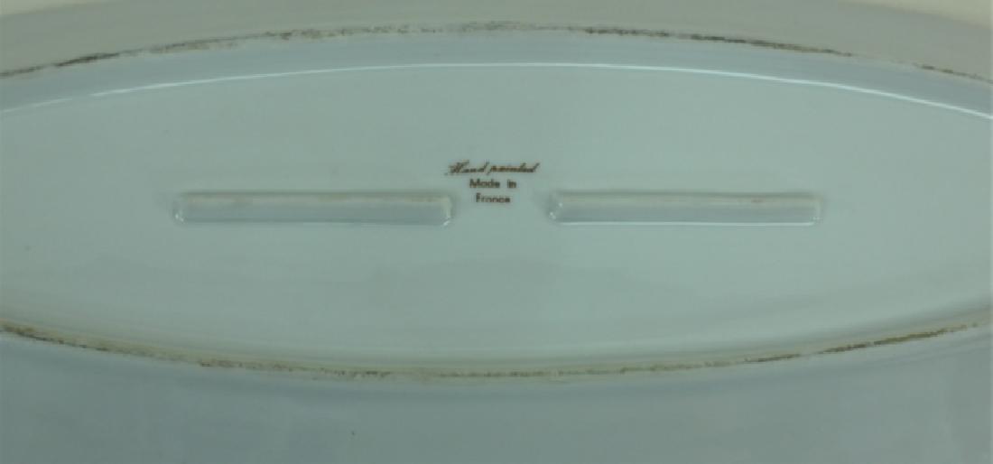 JE Caldwell Limoges Porcelain Fish Bowls & Platter - 10