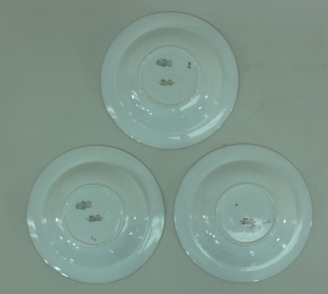 JE Caldwell Limoges Porcelain Fish Bowls & Platter - 7