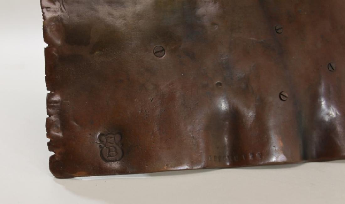 Franz Bergman Orientalist Bronze Nubian on Carpet - 7