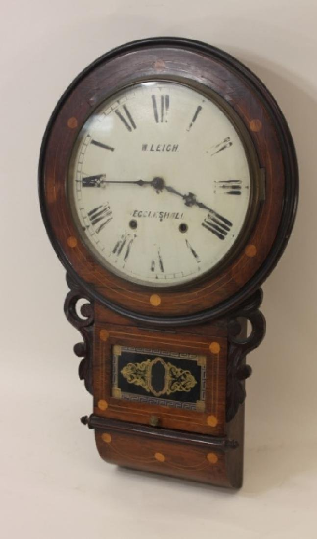 19C W Leigh Eccelshall Wall Mounted Station Clock - 3