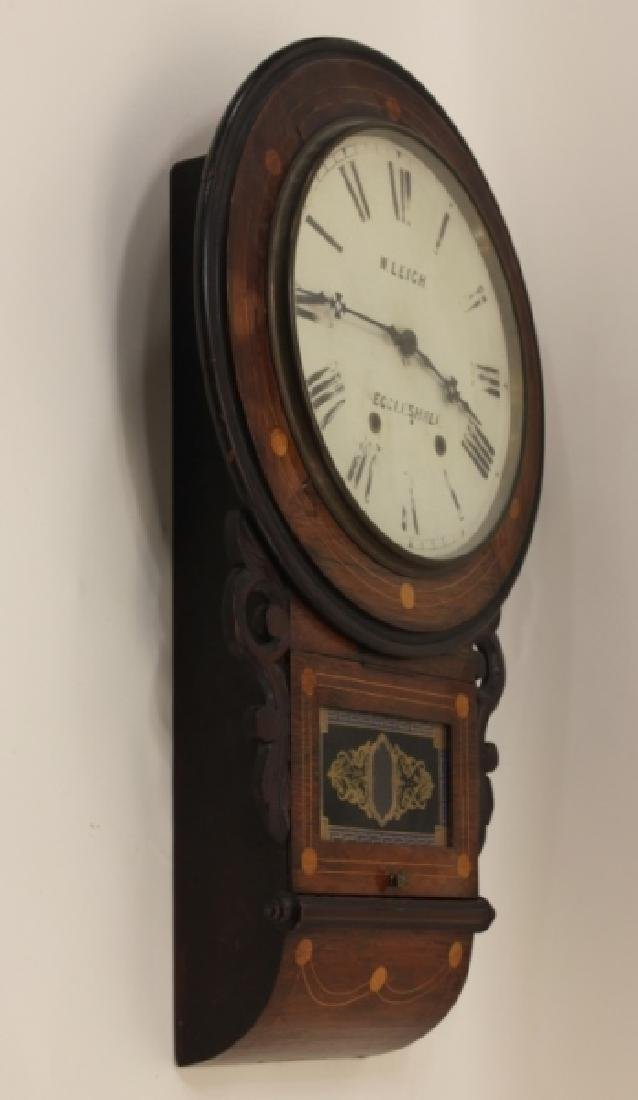 19C W Leigh Eccelshall Wall Mounted Station Clock - 4
