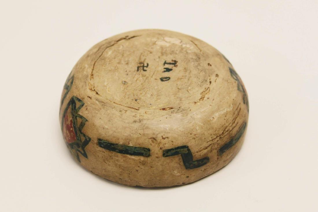 19c Isleta Pueblo American Indian Pottery Bowl - 8