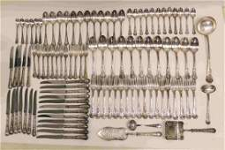 101 Pc Christofle Dinner & Lunch Flatware w Grapes