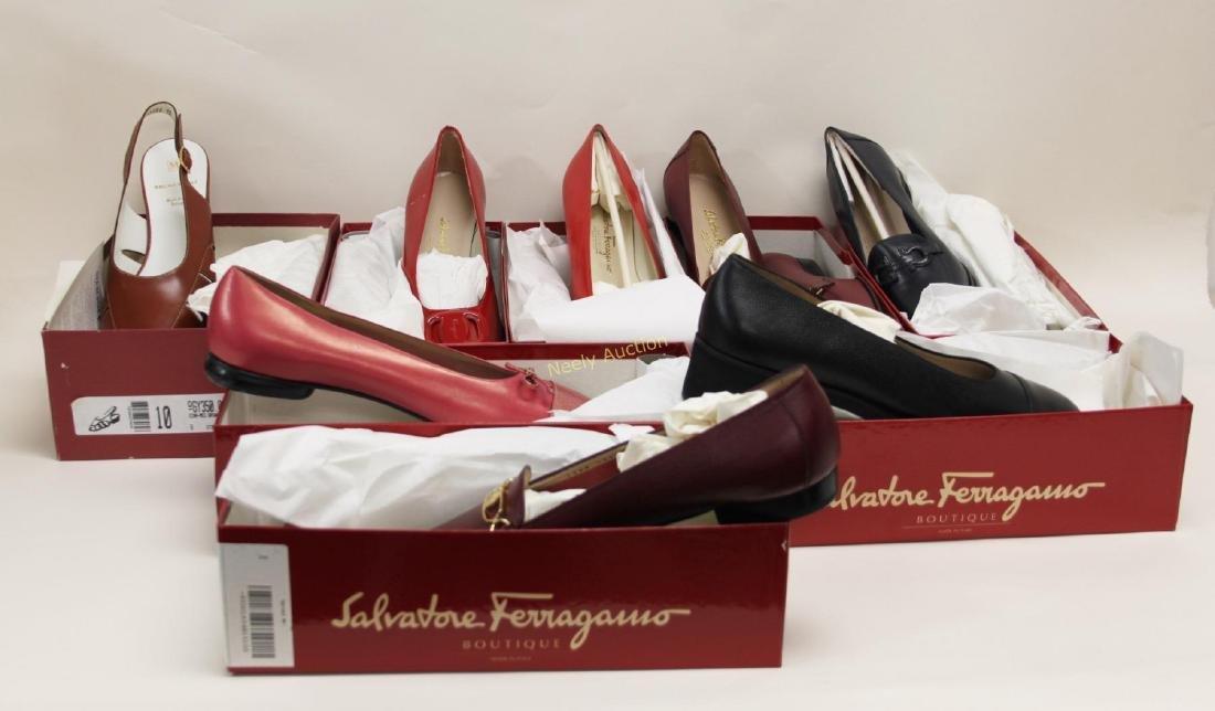 8 Pr Ferragamo & Bruno Magli Ladies Shoes Size 10B - 2