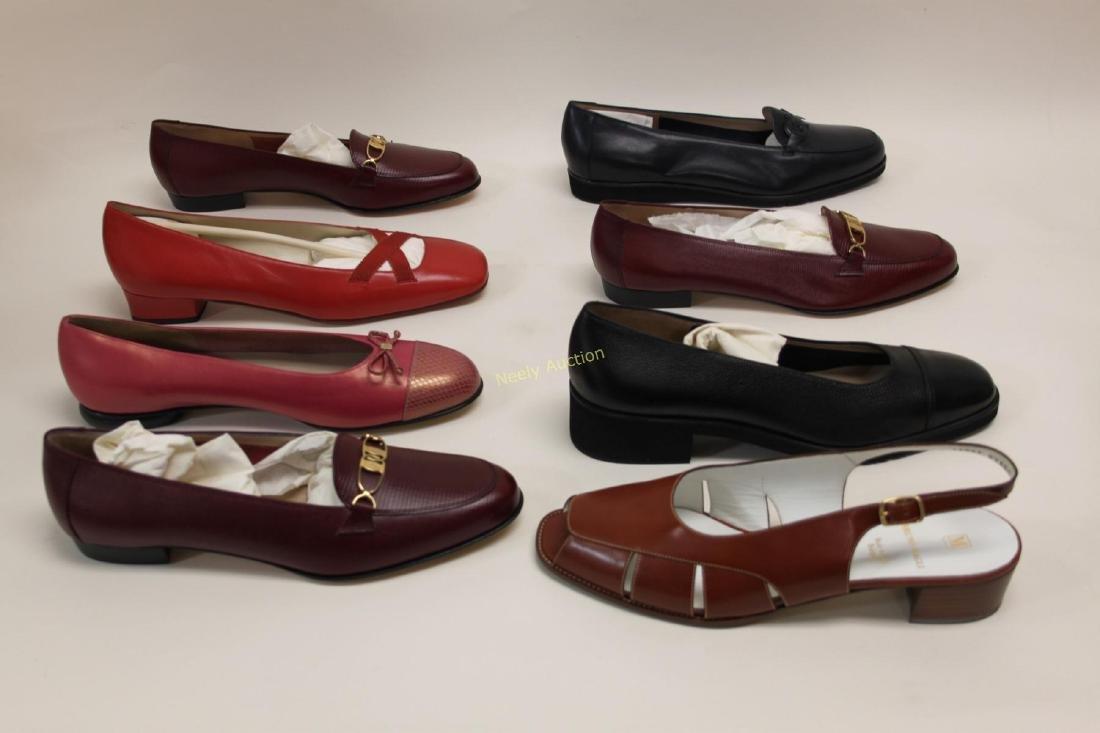 8 Pr Ferragamo & Bruno Magli Ladies Shoes Size 10B - 4