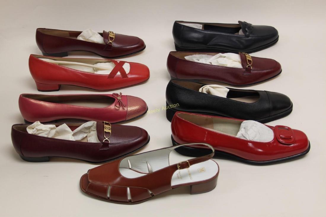 8 Pr Ferragamo & Bruno Magli Ladies Shoes Size 10B - 6