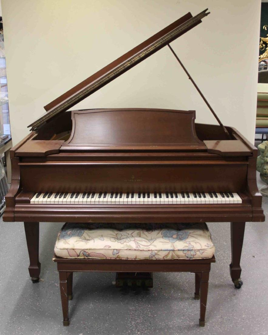 1923 Steinway Model M Baby Grand Piano SN# 218241.