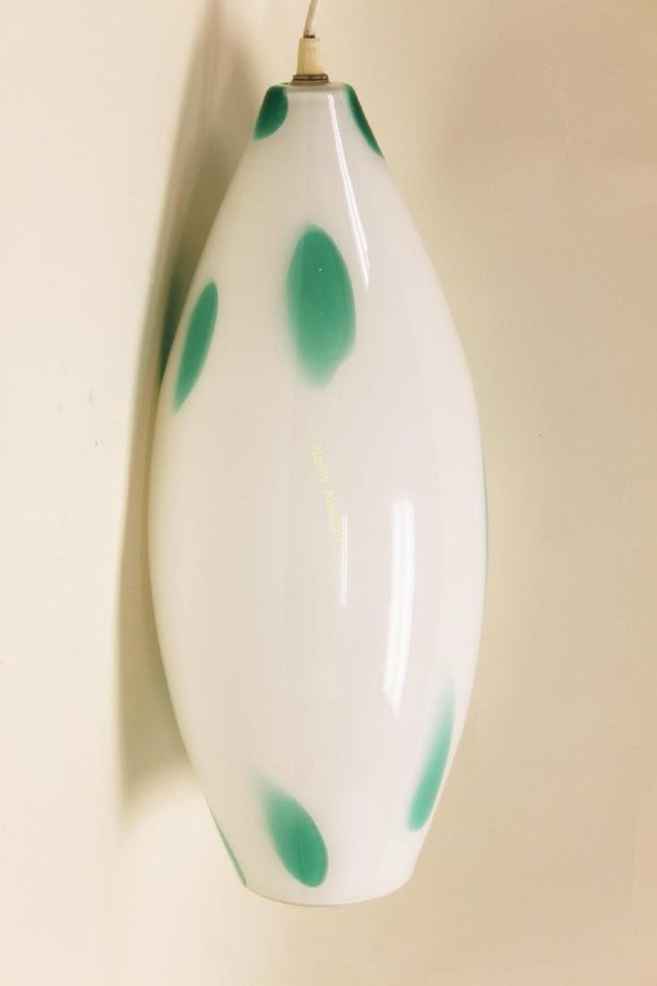 Vennini Murano Art Glass Pendant Chandelier - 2